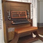 A very heavily reconstructed organ that Bach touched...