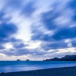 Kailua beach 'Blue Hour' before sunrise