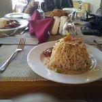 Mix Seafood Noodles Camaron Beach Club