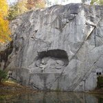 lion in the rock, lucern