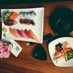 Sushi  Combination + Sonomono