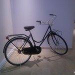 esta bicicleta nos dio la bienvenida