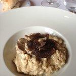 le risotto et truffes
