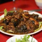 porc sauce huitre