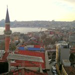Looking at the golden horn & old city