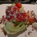 J Gilbert's colorful, tasty wedge salad