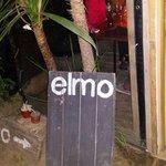 Little banner inside Elmo