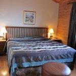 King bed in deluxe room
