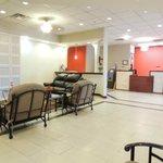 new lobby at Ramada