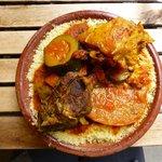 Couscous from Traiteur Marocian Stall