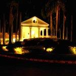 Main Hotel at night