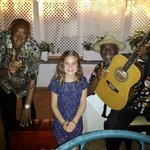 Daughter with Sugar Mill Singers (RIP Phillip)