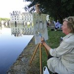 Painting Chenonceaux
