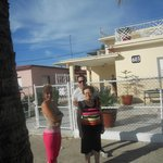 Con Yoena e Javier