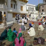 Amritsar Goldener Tempel 1