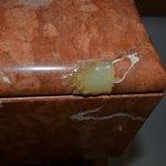Buena reparación del mármol...