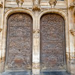 Beautiful cathedral doors