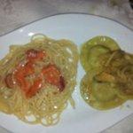 Pasta Ricci e ravioli Carciofi