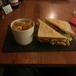 BLT Sandwich.. VERY tasty...