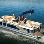 Our 24' Luxury Bennington Tritoon / Pontoon Boat!