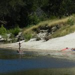 Swimming in the Kouga on your way to Baviaans Lodge