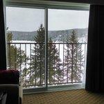 Bayshore room facing the lake. Very spacious and comfortable.