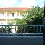 vista desde el balcon  de la habitacion,3er piso,block celeste