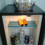 frigo bar e patatine gratuite!!