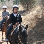 kids enjoying the easy ride
