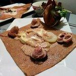Délicieuse galette Bretonne de Nice!