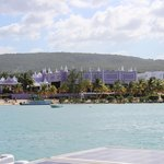 Riu Palace Hotel from the our catamaran