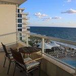 Patio Views - Ocean View Room