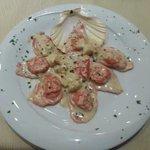 Buonidsimi cappellacci in pasta di lamponi con ripieno alle capesante...