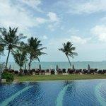 Beach & loungers