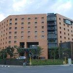 The exterior of the Hyatt Regency Johannesburg