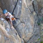 Kokopelli Climbing Foto