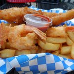 Fish, Shrimp and Fries Combo
