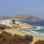 Piperi Beach, Naousa - this beach is steps away from Kanales