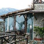 Side view of La Tagliata