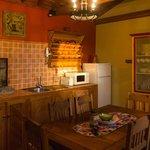 Casa do Misterio kitchen – warm and inviting