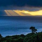 Casa do Misterio — the view at dawn