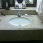 Sink area, no room