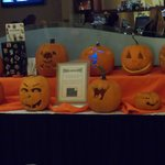 Staff Pumpkin carving contest