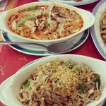Red Curry & Pad Thai