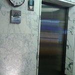Hotel's lifts near reception