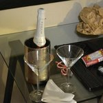honeymoon complimentary champagne