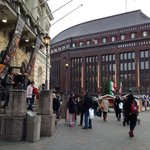 Walking distance to indoor Xmas market