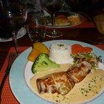 Main meal - Lamb