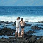 Napili beach rocks