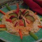 Hummus/Baba Ganusj Appetizer